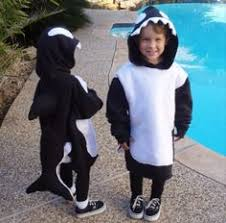 Orca Halloween Costume Sea Creature Costumes Fish Dolphin Whales Seahorse Shark