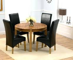 round dining room table with leaves attractive round dining room