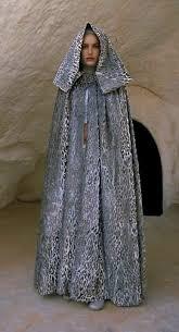 Padme Halloween Costumes Star Wars Padme Amidala Tatooine Dress Cloak Front