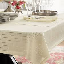 caring for table linens white way