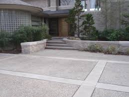car porch tiles design custom concrete driveways in southeast michigan albaugh masonry