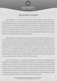check our biography writing example biography writing services
