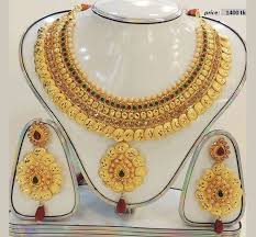 gold plate necklace images Gold plated indian jewelry set online shopping in jpeg