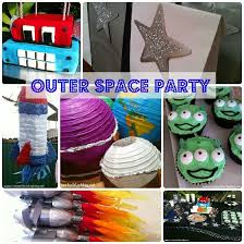 Outer Space Decorations Outer Space Birthday Party