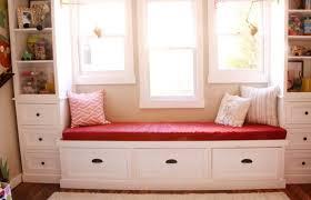 Under Window Bench Seat Storage Diy by Bench Diy Wooden Window Bench Seat With Storage Here Is Great Do