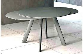 table cuisine ronde ikea table rallonge mariorunhack co