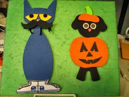 cat halloween read it again flannel friday halloween with pete the cat