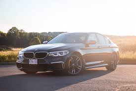 review 2018 bmw m550i xdrive canadian auto review