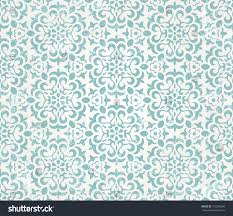 green repeating halloween background floral retro wallpaper grunge effect seamless stock vector