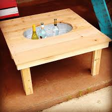 coffee table with cooler remodelaholic brilliant diy cooler tables for the patio with
