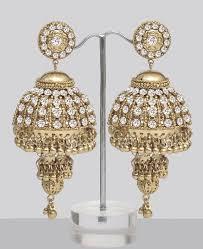 jhumkas earrings designer jhumkas costume jewellery costume jewelry fashion