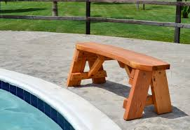traditional round picnic table forever redwood