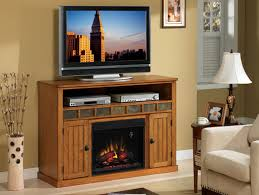 sedonia classic oak entertainment center electric fireplace