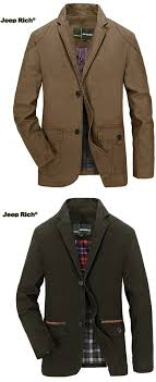 jeep rich jacket us 68 29 jeep rich men s spring fall casual business cotton blend