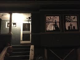 Diy Halloween Window Silhouettes halloween pt 2 window silhouettes fumbleweeds
