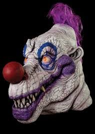 Killer Klowns Outer Space Halloween Costumes Klownzilla Halloween Mask Grim Nation Masks Costumes