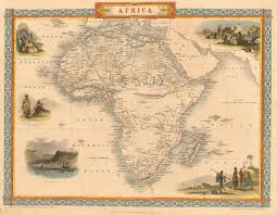 Africa Time Zone Map by Untitled Document