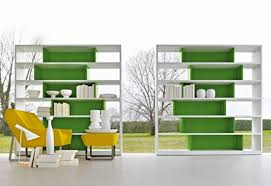 Colored Bookshelves by Nice Decors Blog Archive Uneven Shelf Unit With Colored