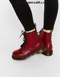 doc martens womens boots canada cherry shoes dr martens cherry smooth 8 eye boots dr