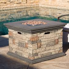 review of crawford outdoor square propane fire pit outdoor fire