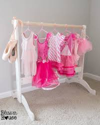 Bassinet That Hooks To Bed Diy Dress Up Rack From A Repurposed Bassinet Cradle