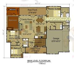 Craftsman Style Open Floor Plans 1312 Best Cabin Images On Pinterest House Floor Plans Small
