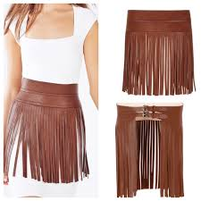 49 off bcbgmaxazria accessories bcbg wide tan leather fringe