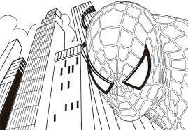 lego spiderman coloring pages print free printable black