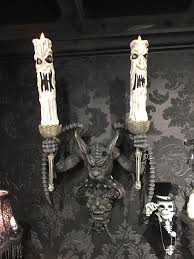 gargoyle candelabra sconce candelabra walls and halloween ideas