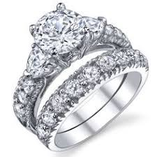 engagement ring walmart garland and sapphire ring in platinum wedding band g si1