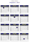 Singapore 2013 Printable Holiday Calendar | 2013 Singapore ...