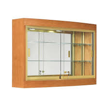Wall Mounted Cabinet With Glass Doors by Hanging Display Cabinet W Sliding Glass Doors Subastral