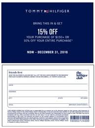 tommy hilfiger black friday tommy hilfiger coupons printable coupons in store u0026 coupon codes