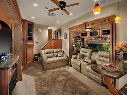5th wheel with living room in front livingroom front living room fifth wheel for used cers models