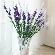 Lavender Home Decor 5 Colors 38cm Artificial Lavender Simulation Lavender Silk Flower