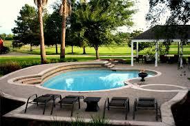 Custom Backyards Swimming Pool Design Ideas Landscaping Network
