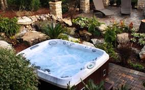 Backyard Patio Ideas With Fire Pit by Home Design Outdoor Patio Ideas With Tub Backyard Fire Pit
