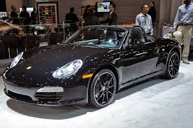 porsche boxster black edition nyias 2011 porsche black edition rainydaymagazine