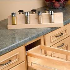 Kitchen Cabinet Spice Organizers Custom Made Pull Out Spice Rack Kitchen Ideas Pinterest