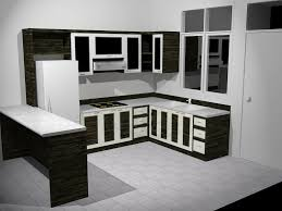 Black Kitchen Cabinet by Black Kitchen Cabinets With Glass Doors Kitchen Decoration