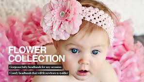 baby flower headbands gorgeous baby headbands by babyboo from 1 99 free uk delivery