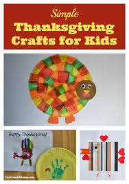 east coast simple thanksgiving crafts for