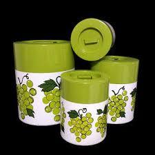 green kitchen canister set shop metal kitchen canister sets on wanelo