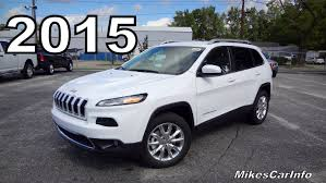 ford jeep 2015 2015 jeep cherokee limited 4x4 youtube