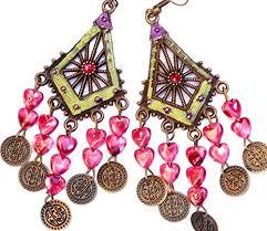 Long Chandelier Earrings Dangle Earrings Extra Long Earring Long Hippie Earrings Big Earrings Hippie