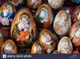 painted easter eggs for sale painted religious eggs for sale st petersburg russia europe