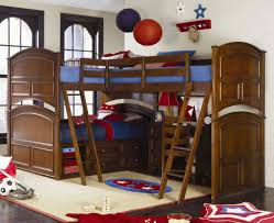 full size bunk bed with desk underneath box springs office chairs