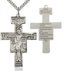 san damiano crucifix men s san damiano cross pendant