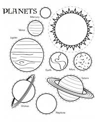 best space solar system coloring pages womanmate com