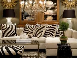 vintage inspired home decor zebra print living room decor animal